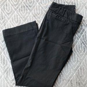 The Limited Black Drew Fit Dress Pants 4 Petite